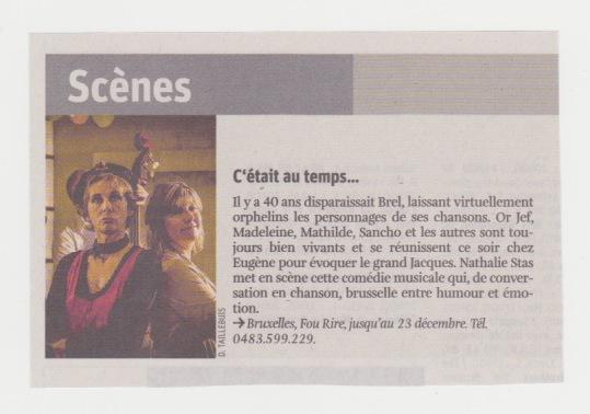 La Libre 19/12/2018